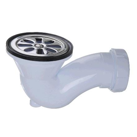 """Клапан сливной для душевого поддона, Jimten, арт.S-134  1 ½ """"х80мм"""