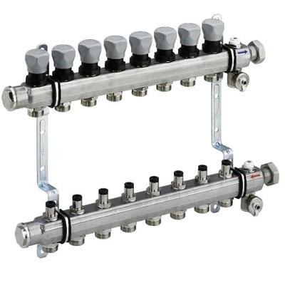 (VG) 1006 Коллекторная группа для систем напольного отопления, сталь