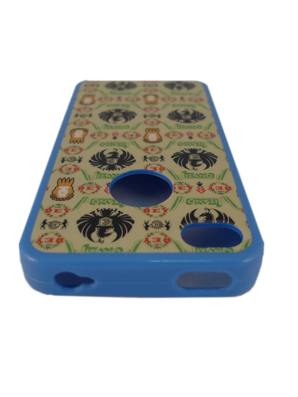 Чехол Apple iPhone 4G GEM (черн.с динозавр.)