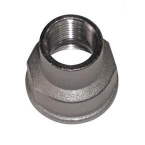 SOBIME Муфта редукционная никелированная, латунь, ВР, арт. 65