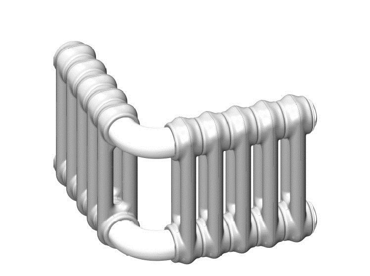 (Multicolonna) Радиаторы стальные трубчатые угловые