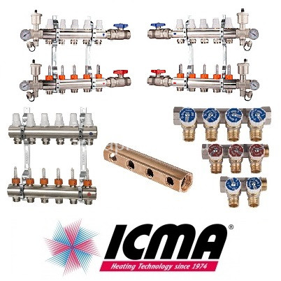 Коллекторы ICMA, лутунные