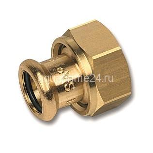 (SN) 8359g пресс-фитинг, бронза, разъемн.соед.с плоск.упл. 18x3/4 (5/Пакет  160/)