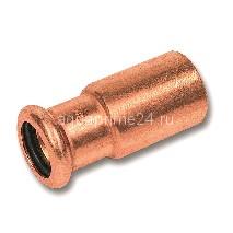(SN) 6243 пресс-фитинг, медь, переходник редукц.ВПр-НПр 28ax15 (5/Пакет  200/)