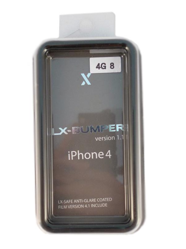 Чехол Apple iPhone 4G LX BUMPER (черный)