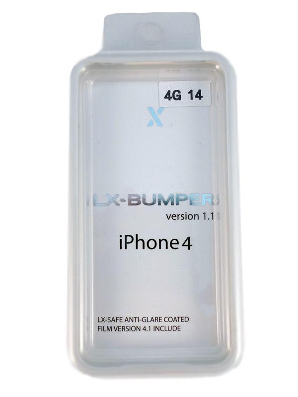 Чехол Apple iPhone 4G LX BUMPER (белый)