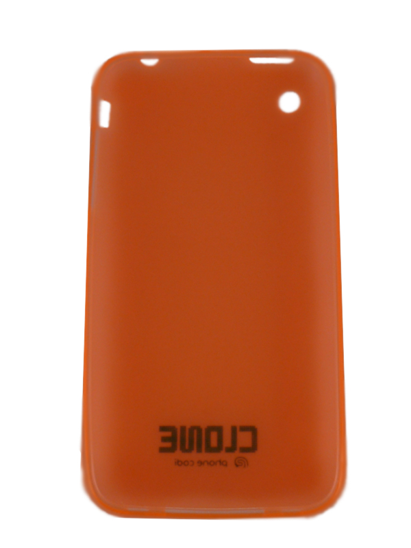 Чехол Apple iPhone 3G CLONE (оранж.)