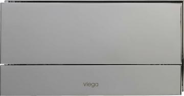 Кнопка Visign for More 101 Viega 8351.1 для смыва, металл, хромированная, матовая 271х140