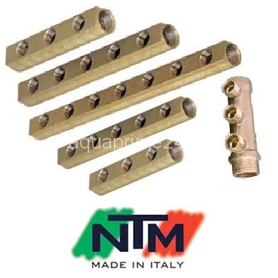 Коллекторы NTM серия 600, латунные