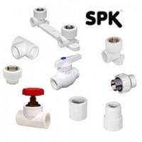 Фитинги SPK PPR, белые