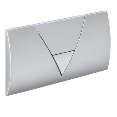 Кнопка Visign for Life 1 Viega 8310.1 для смыва, пластик, матовый хром/хром  265х135