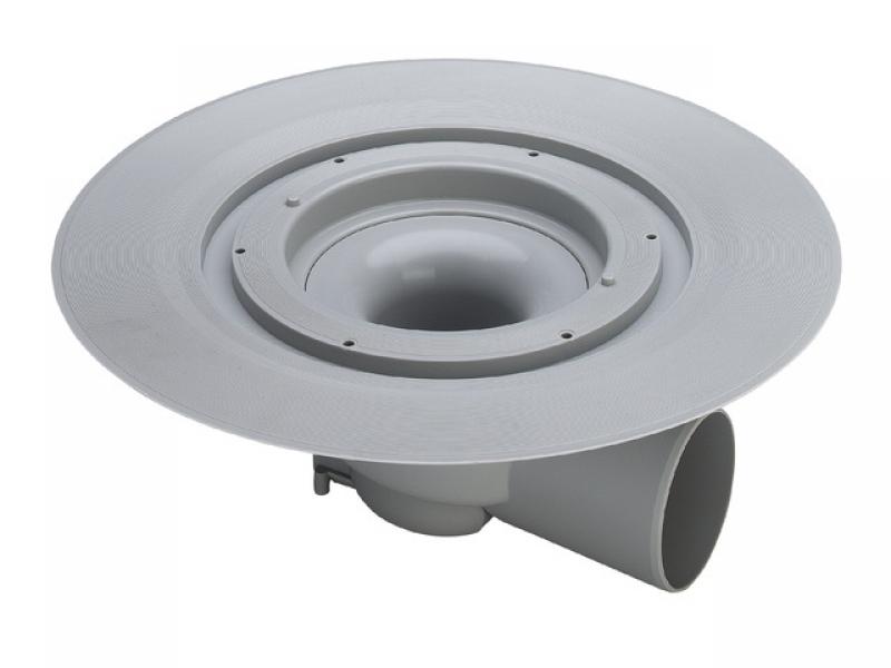 Трап Advantix для ванной комнаты без насадки к трапу, защита от запаха, горизонтальный отвод, VIEGA, арт.4955.25   100