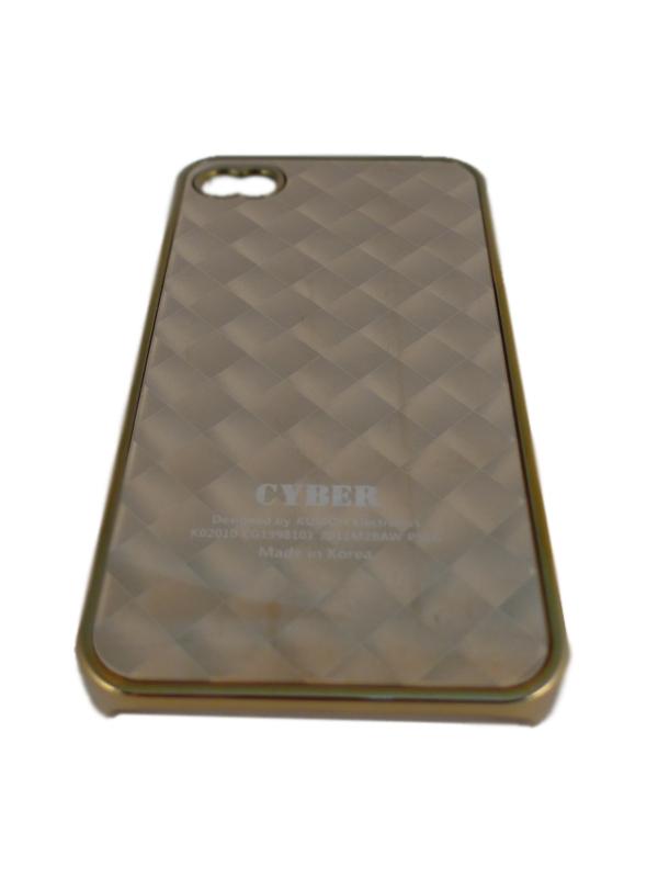Чехол Apple iPhone 4G Hard Deco Case Cyber (золотой)