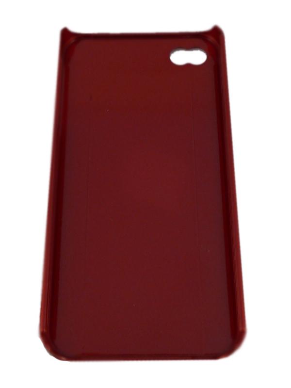 Чехол Apple iPhone 4G Hard Deco Case Cyber (красный)