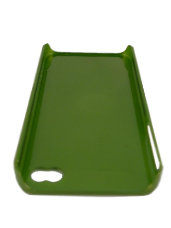 Чехол Apple iPhone 4G Hard Deco Case Cyber (зеленый)