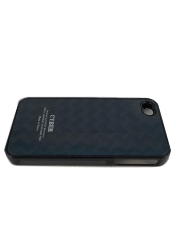 Чехол Apple iPhone 4G Hard Deco Case Cyber (черный)