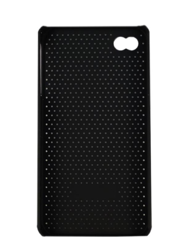 Чехол Apple iPhone 4G The Cool Case (черный)