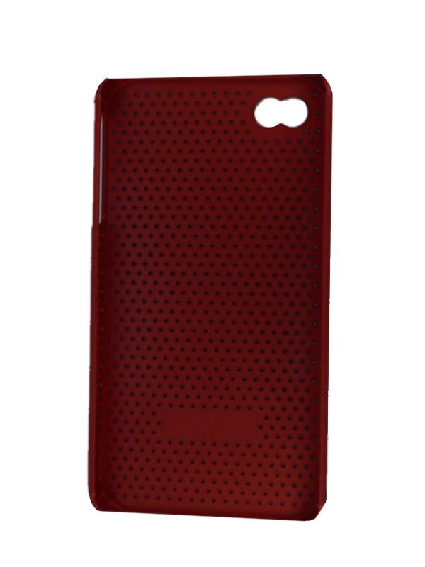 Чехол Apple iPhone 4G The Cool Case (красный)