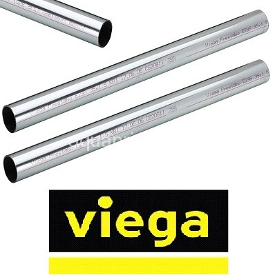 Трубы VIEGA (Германия) стальные оцинкованные