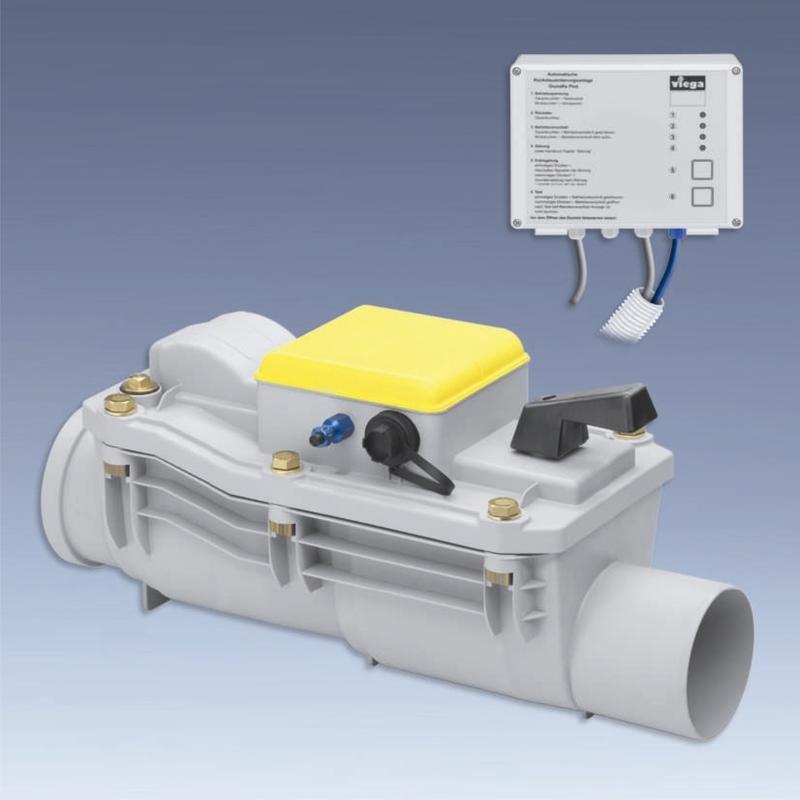 Клапан Grundfix Plus канализационный, обратный, VIEGA 4987.41  125