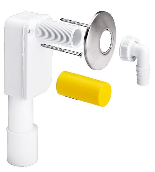 Сифон для скрытого монтажа Viega 5635.6, пластик  40/50  мм