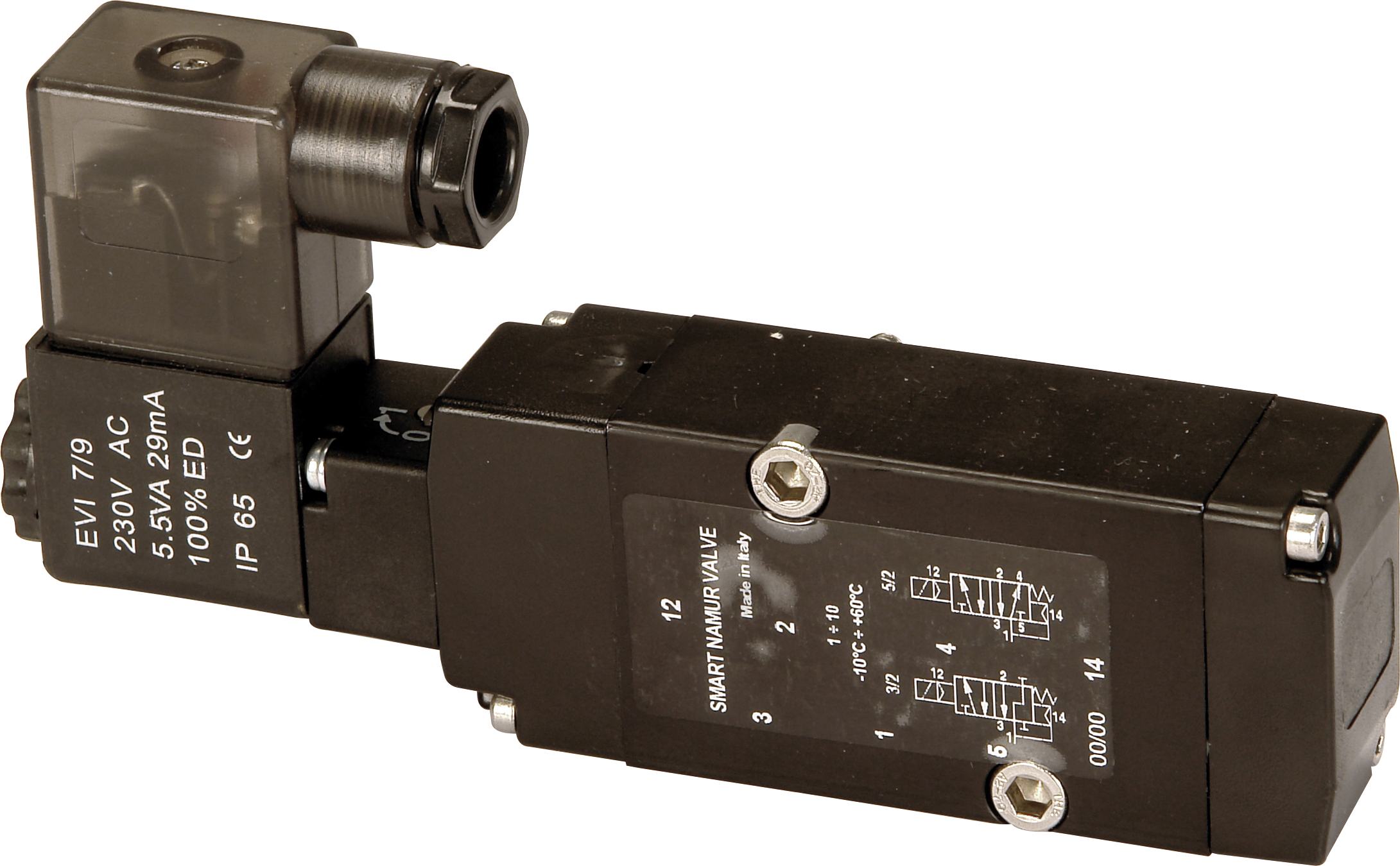 (EF) NAMUR IP66 Atex EVSM DC Солиноидный клапан 24V