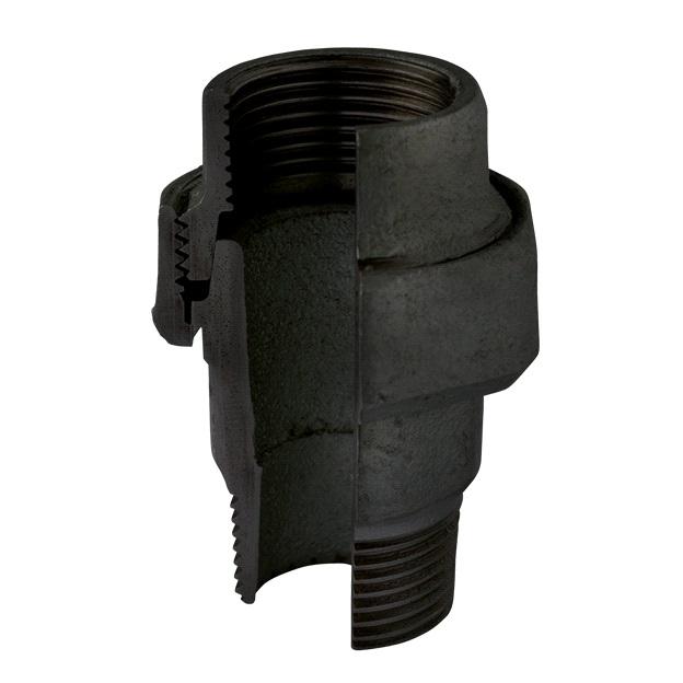 (ATUSA) Ч-341 Разъемное соединение коническое В/Н, чугун черный