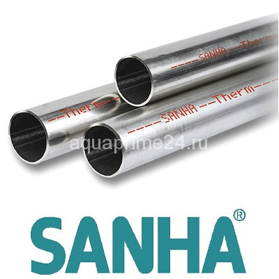 Стальная труба оцинкованная SANHA THERM (Sanha)