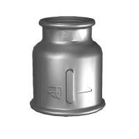 Pk Муфта редукционная, чугун черный, ВР, арт. 240