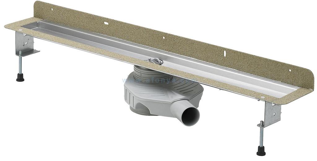 Инсталляция Eco Plus Viega 4980.30, пристенный, нержавеющая сталь  1000мм