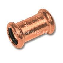 (SN) 6270 Пресс-Муфта двухраструбная, медь