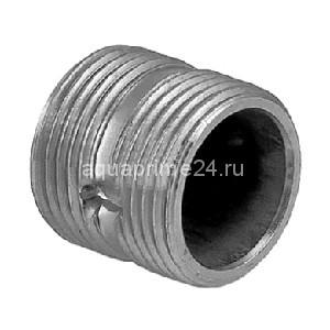Ниппель радиаторный, оцинкованный, чугун, НР, арт. 598