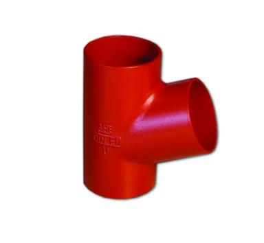 Тройник SML 70°, косой, чугунный, арт.015015012570  150х125