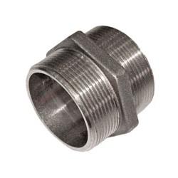 SOBIME Ниппель никелированный, латунь, НР, арт. 33