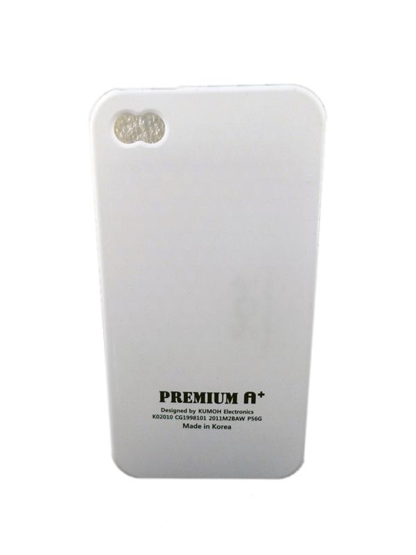 Чехол Apple iPhone 4G Soft Premium Case (белый)
