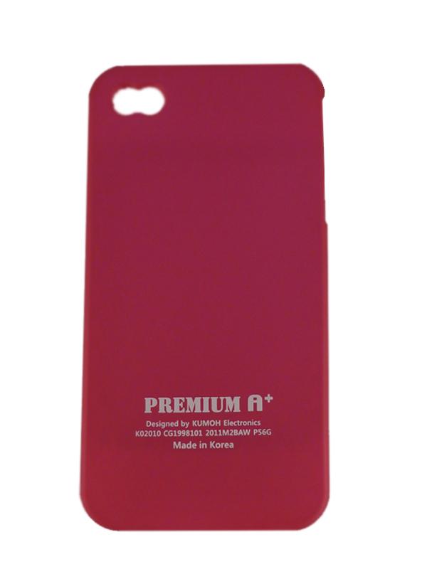 Чехол Apple iPhone 4G Soft Premium Case (роз.)
