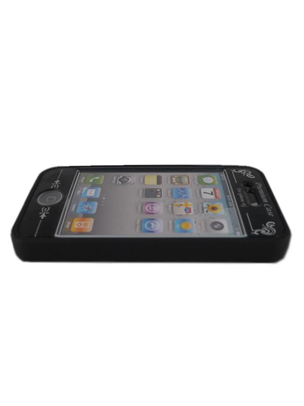 Чехол Apple iPhone 4G Soft Premium Case (черный)